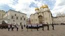 На Соборной площади Кремля состоялся торжественный выпуск учащихся военных вузов