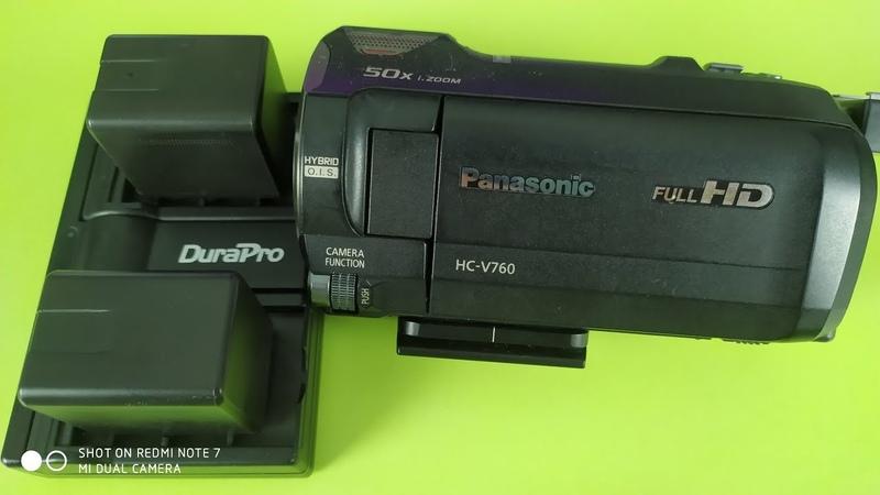 Батареи DuraPro VW-VBT380 зарядка для видеокамер Panasonic ► опыт использования