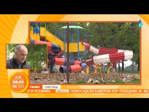 Izgradnja velnes spa centra sa akva parkom na Paliću. 20-05-2019