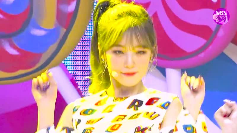 [페이스캠4K] 프로미스나인 백지헌 FUN! (fromis_9 BAEK JI HEON FaceCam) @SBS Inkigayo_2019.6.9
