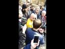 Одесса: «легенду Майдана» облили ведром спомоями