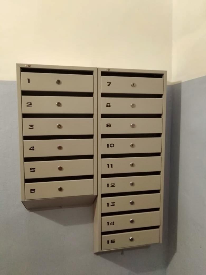 Установили новые почтовые ящики в микрорайоне Северный, 22 и 16