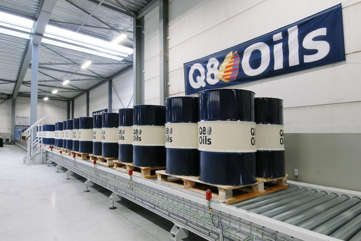 Бочки 205 литров с маслом Q8