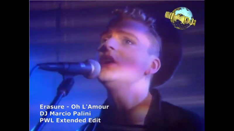 Erasure Oh L'Amour PWL Extended Edit