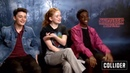 Noah Schnapp and Sadie Sink flirting for 10 minutes straight while ignoring Caleb Mclauglin