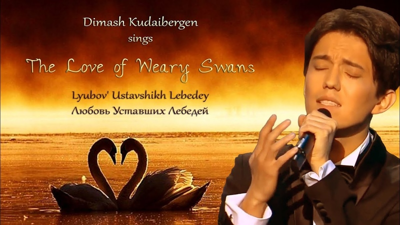 Dimash Kudaibergen sings The Love of Weary Swans [with English romanized Russian subs]