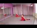 Дуэт Анна Решетникова и Кристина Милова. Pole dance exotic Новосибирск.
