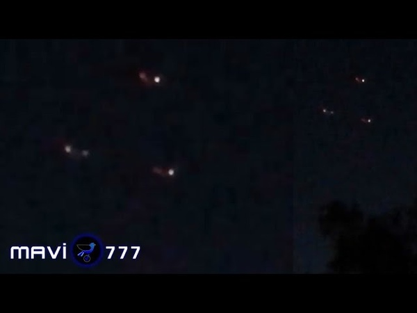 Excellent triangular UFO sighted over Fontana CA July 4 2019