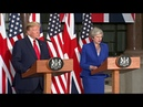 TRUMP RIPS LONDON MAYOR: President Trump FULL Speech With Theresa May