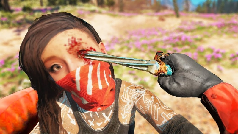 Far Cry New Dawn Stealthy Kills Executions Outpost Liberation