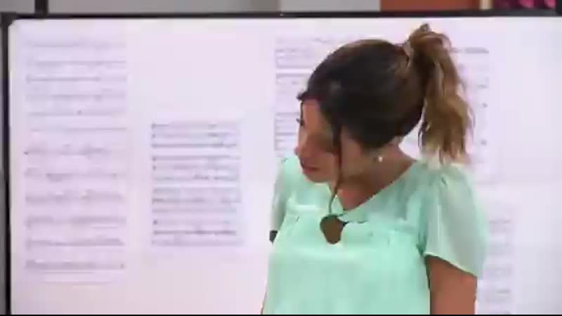 Виолетта2 сезон 19 серияВиолетта и Леон