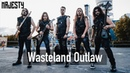 MAJESTY - Wasteland Outlaw (Official Video) | Napalm Records