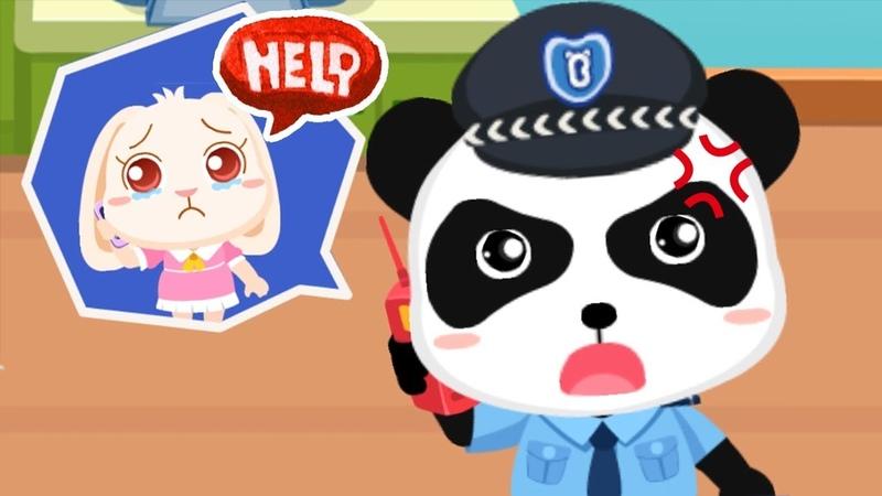 Baby Panda's Brave Jobs Kids Learn and Play Policeman Fireman Astronaut Babybus Kids Games