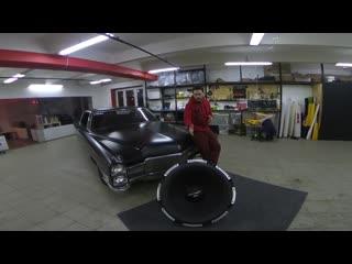Ural patriot xxl. the world`s biggest subwoofer