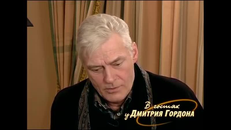 Щербаков Табаков завидовал Ефремову