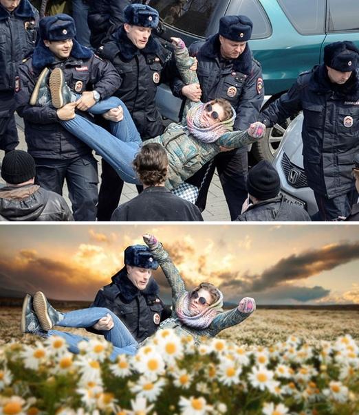20 работ победителей фотошоп-баттлов (Часть 2) Если ваша неудачная фотография попадет в интернет готовьтесь к тому, что пользователи фотошопа сделают ее объектом для оттачивания своего