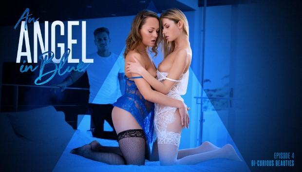 21Sextury - Angel In Blue: Bi-Curious Beauties