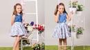 Blusa con tablas en escote REVISTA PATRONES INFANTILES Nº 6