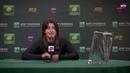 Bianca Andreescu | 2019 BNP Paribas Open | Final | Press Conference