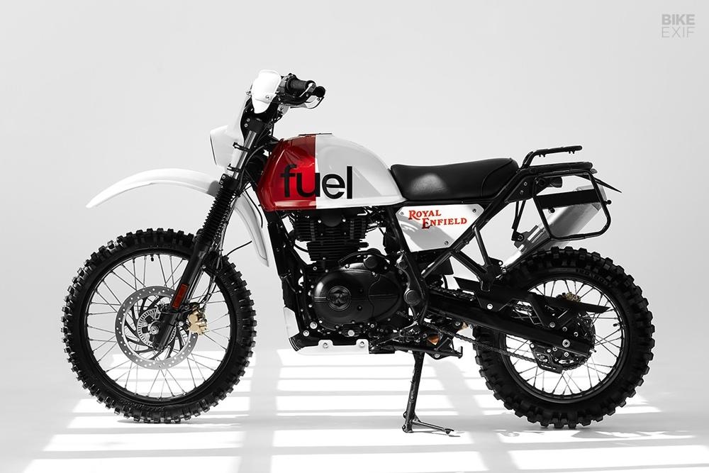 Fuel Bespoke Motorcycles: скрэмблер Royal Enfield Himalayan Dakar