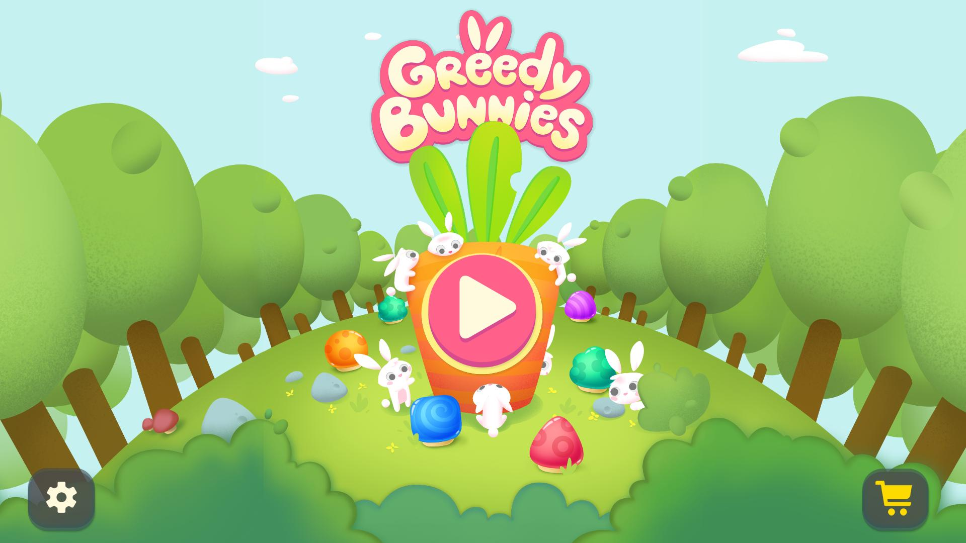 Жадные кролики | Greedy Bunnies Multi (Rus)