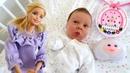 Barbie ve Ken Sevcan 'ın yeni doğan bebeği ile tanışıyor
