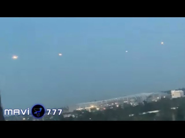 Multiple UFOs sighted above the City Los Angeles! June 16,2019