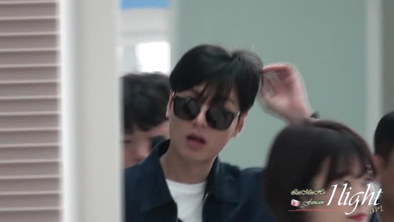 Lee Min Ho 20190618 Incheon Airport 프랑스 파리 출국 cr 일라잇