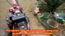 Thử nghiệm máy xới Nhật bãi được dựng lại chạy bộ xịt rửa. 0978760984