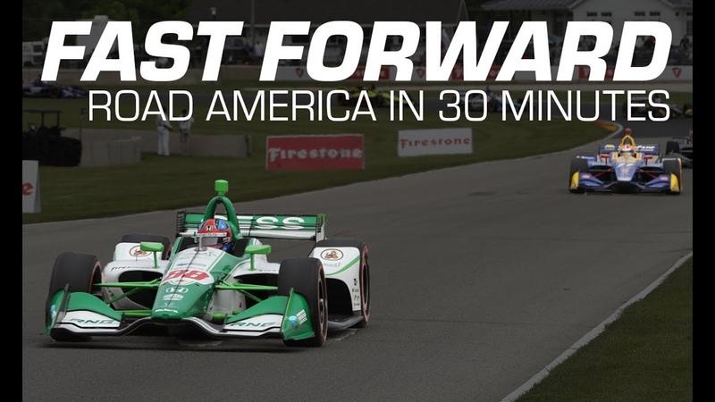 Индикар * Гран-при Роуд-Америка * Расширенные моменты гонки