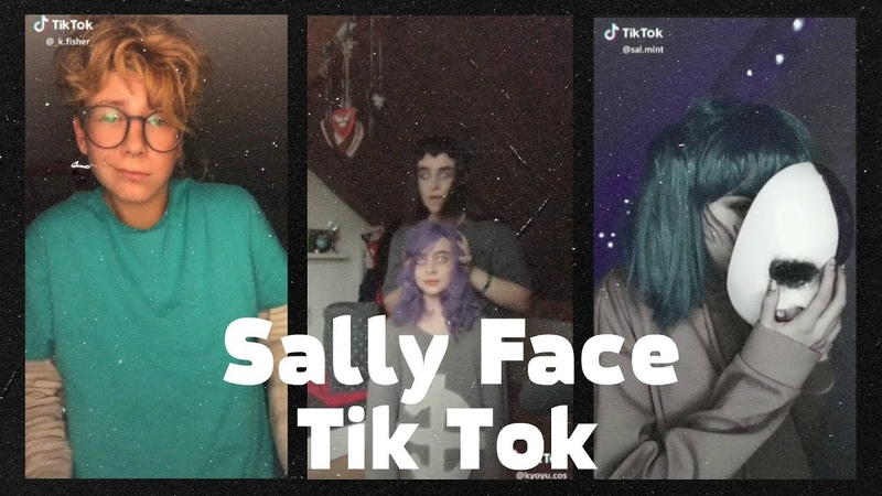Tik Tok, Подборка видео Sally Face/Салли Фейс 9