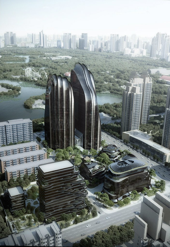 MAD Architects / Chaoyang Smart Hero-Central Park Plaza