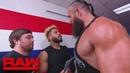 "[WBSOFG] Braun Strowman will face ""Colin Jost"" and ""Michael Che"" before WrestleMania: Raw, April 1, 2019"