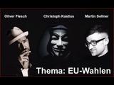 Oliver Flesch, Martin Sellner &amp Christoph Kastius im Gespr