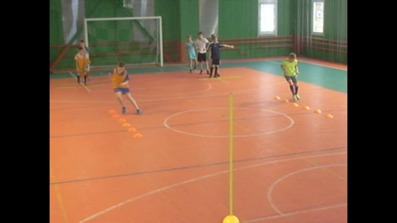 ДФШ Бойцов Team. Упражнение № 16 : футбольное упражнение на скорость, координацию и ловкость.