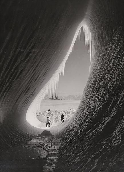 Ледяной Грот, британская экспедиция на Южный полюс. 1911 год
