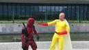 Deadpool vs comic con 2018