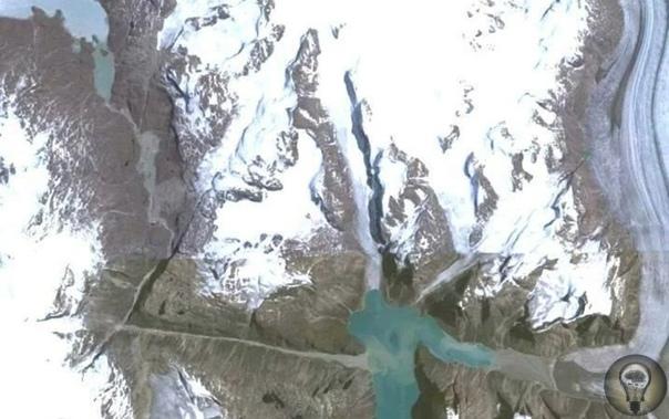 На юге Гренландии обнаружен загадочный треугольник