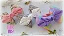 Бантики из репсовых лент🎀/Ribbons bows