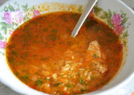 Готовим суп харчо из курицы!