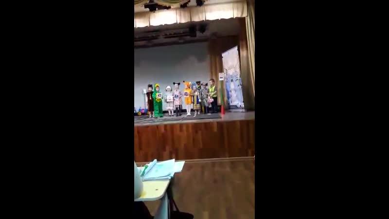 Средняя группа на конкурсе Я люблю тебя, Россия! в номинации Безопасность дорожного движения