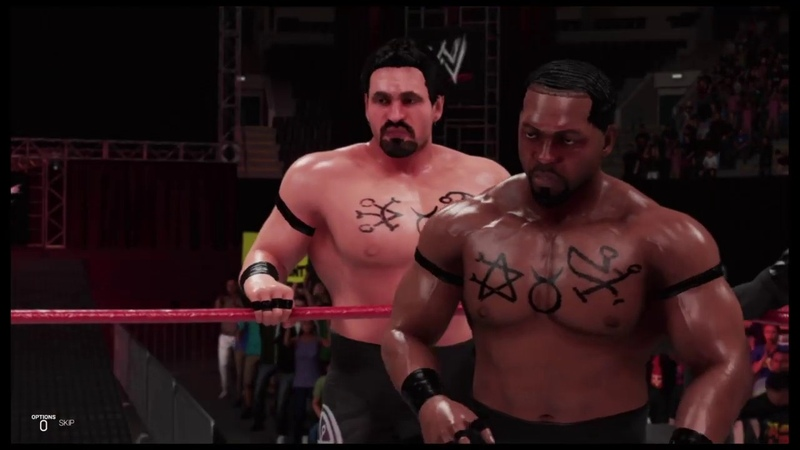 WWE 2K19 The Corporate Ministry vs The Union, Raw Is War 99, Tag Team Match