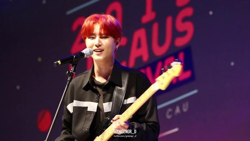 190523 중앙대축제 DAY6-sing me (영현 focus) YoungK