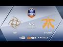 NiP vs fnatic, ECS Season 5 Europe