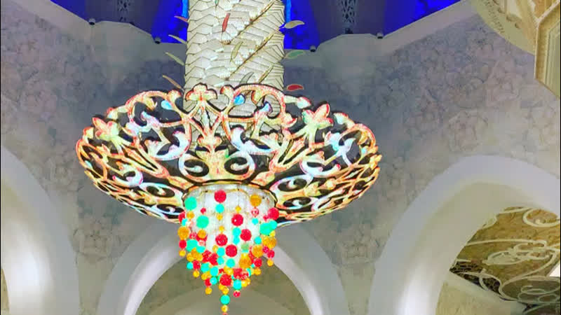 Мечеть Шейха Зайда. Призыв к молитве.
