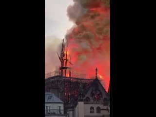 7 centuries of history going down in flames NotreDame| History Porn