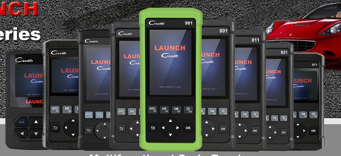 Магазин сканеров Launch