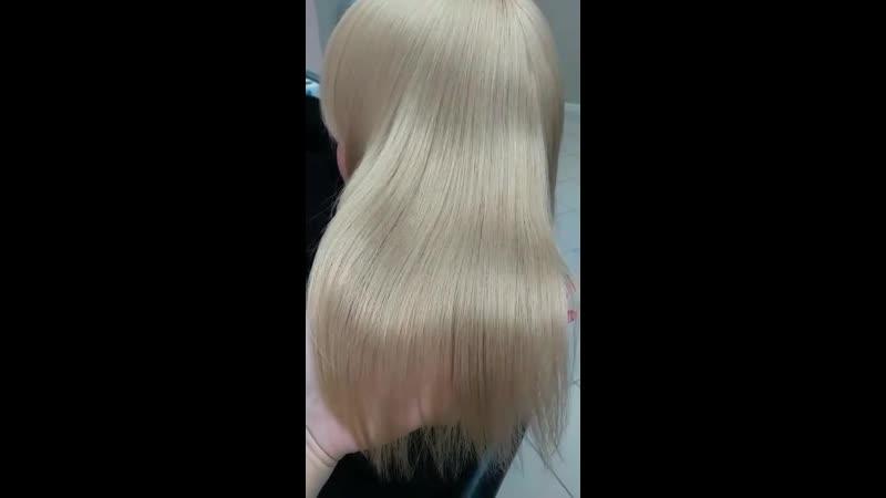 Окрашивание ботокс для волос H-brush Capillary Reconstruction-Тюмень-Имидж Стайл