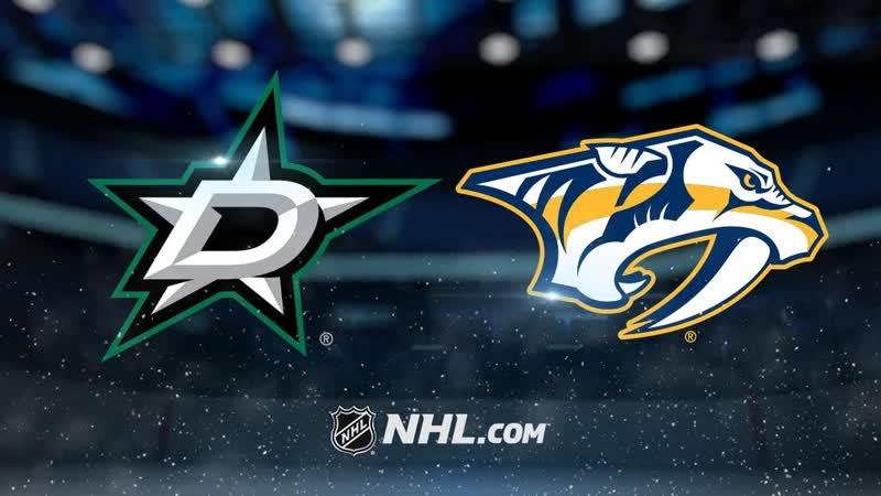 NHL 2018-19 / SC / WC / Round 1 / Game 5 / Dallas Stars - Nashville Predators / Eurosport