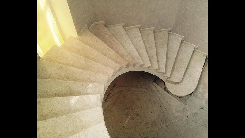 Винтовая лестница от Бетонные Лестницы Best Step